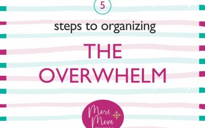 Organizing the Overwhelm